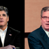 Jeb Bush, right, will field questions from conservative commentator Sean Hannity on Friday.  (Photos: Newscom)