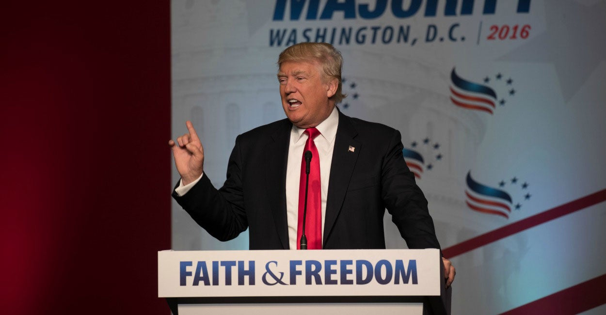 Trump on Life, Conscience, and Religious Freedom in His Own Words
