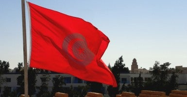 Tunisian Flag (Photo: Keith Roper)