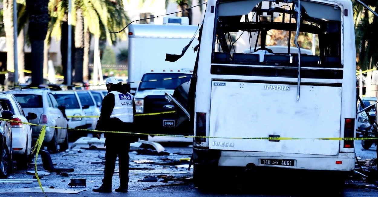 Ataque terrorista, Túnez