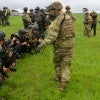 About 300 U.S. Army paratroopers are training the Ukrainian National Guard at a NATO base in western Ukraine. (Photo: Nolan Peterson/The Daily Signal)