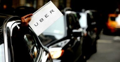 """Jaime Hessel took an Uber ride from East Williamsburg, Brooklyn, to East Midtown Manhattan in New York on 28 March 2015. It was a 6.79-mile ride, and it lasted 35 minutes and 29 seconds. The bill? $12,251.49. An Uber spokesman told Gothamist, """"We apologize to this rider for any inconvenience and we have provided them with a full refund."""" (Photo: Dennis Van Tine/ABACAUSA.COM/Newscom)"""
