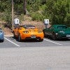 Tesla cars at electric charging stations.  (Photo: Windell Oskay via Flickr)