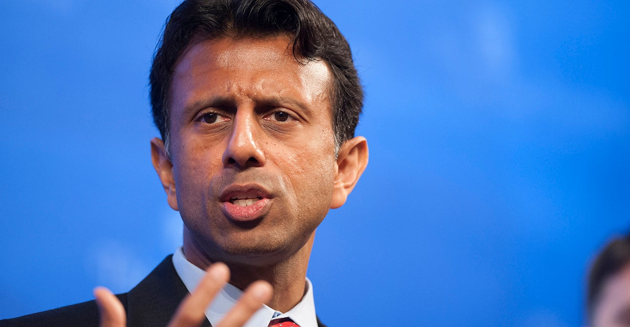 Gov. Bobby Jindal speaks at Heritage about his new energy policy. Photo: Steven Purcell