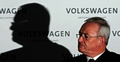 Former Volkswagen Chairman of the Board Martin Winterkorn. (Photo: JULIAN STRATENSCHUKTE/EPA/Newscom)