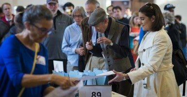 America has a long and unfortunate tradition of election fraud. (Photo: MOLLY RILEY/UPI/Newscom)