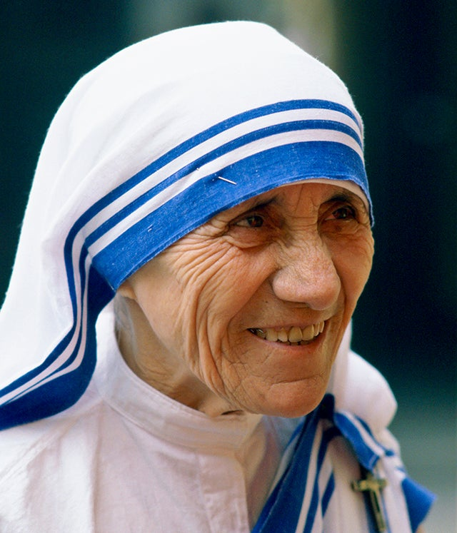 Mother Teresa of Calcutta, India. Photo credit: Tim Graham/Robert Harding/Newscom