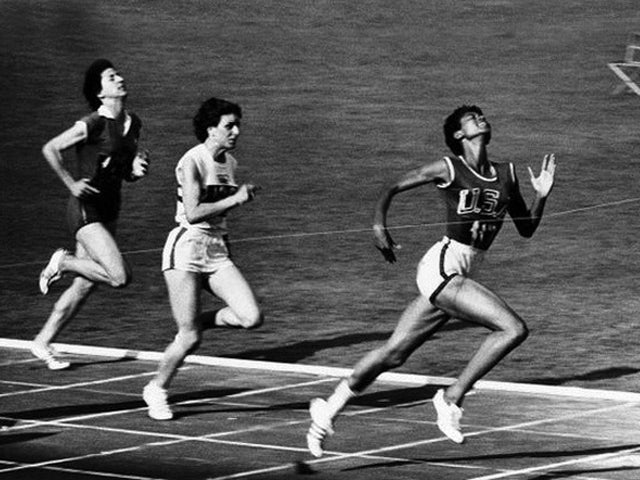 Wilma Rudolph at the 1960 Summer Olympics. Photo credit: Giuseppina Leone