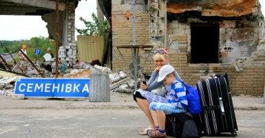 Life beside war in Slavyansk, Ukraine (Photo: Nolan Peterson/The Daily Signal)