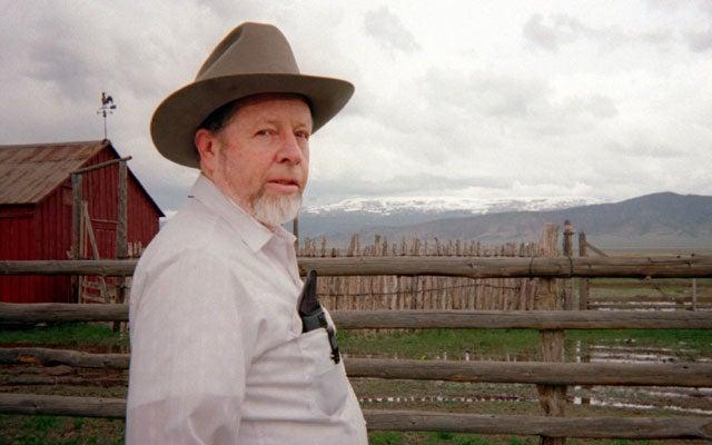 Nevada farmer Wayne Hage (CURTIS HOWELL KRT/Newscom)