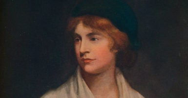 Early feminist Mary Wollstonecraft opposed abortion