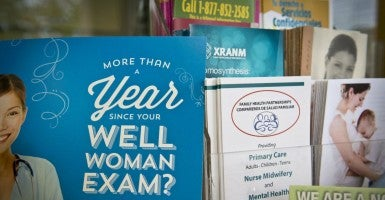 Messages promoting health. (Photo: Marla Brose/Zuma Press/Newscom)
