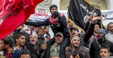 In January, Tunisians celebrate the approaching third anniversary of the first Arab Spring. (Photo: Newscom)