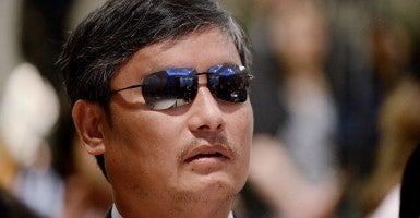 Chen Guangcheng (Photo: Newscom)