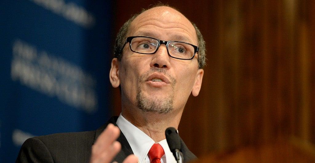 U.S. Labor Secretary Thomas Perez (Photo: Chuck Myers/Newscom)