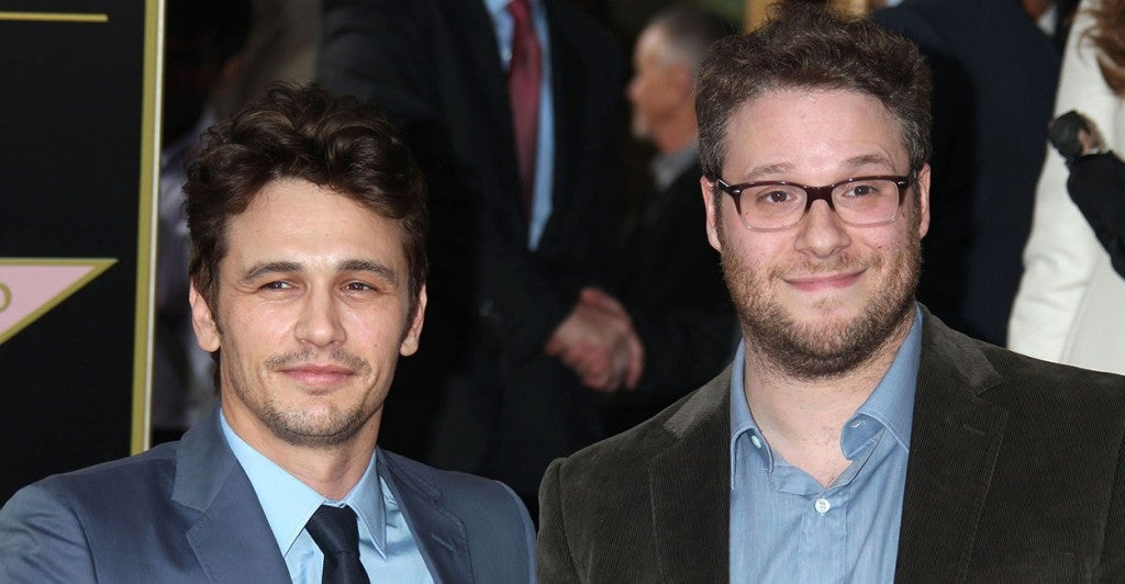 James Franco and Seth Rogen star in 'The Interview.' (Photo: Newscom)