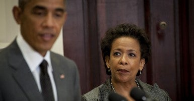 President Obama nominates Loretta Lynch to be attorney general on Nov. 8. (Photo: Pete Marovich/Newscom)