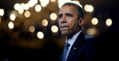 President Obama's remarks on Iran and the GOP elicited strong reactions. (Photo: Olivier Douliery/CNP/AdMedia/Newscom)