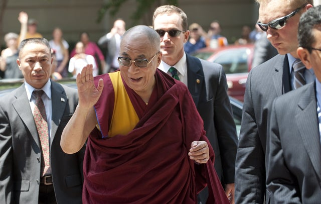 Dalai Lama visits Washington