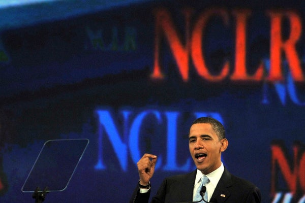 Barack Obama at National Council of La Raza