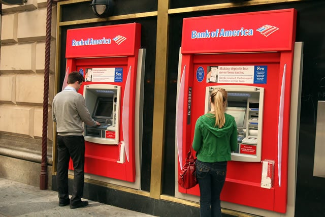 bank of america maximum withdrawal from atm