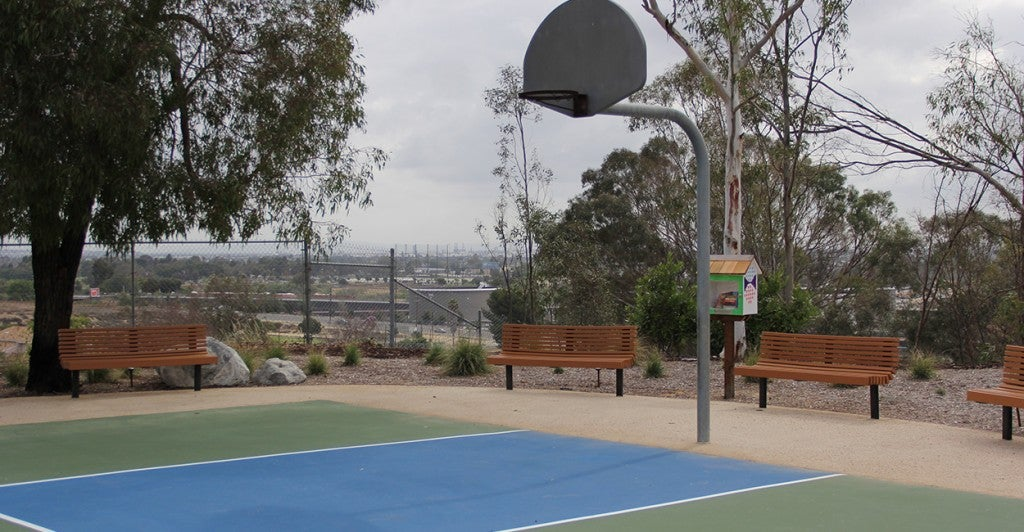The property also has it's own basketball court. (Photo: Billy Glading/The Daily Signal)
