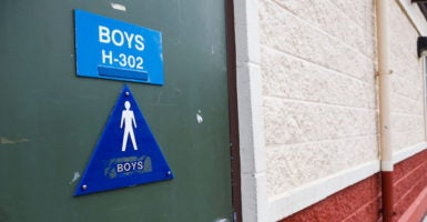 In the case of a transgender student, the Supreme Court grants a Virginia school district temporary permission to keep bathrooms separated by biological sex.  (Photo: Peter Thoshinsky/ZUMA Press/Newscom)