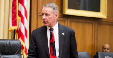 """Rep. Ken Buck, R-Colo., just released a new book detailing government corruption, entitled, """"Drain the Swamp: How Washington Corruption is Worse Than You Think.""""  (Photo: Bill Clark/CQ Roll Call/Newscom)"""