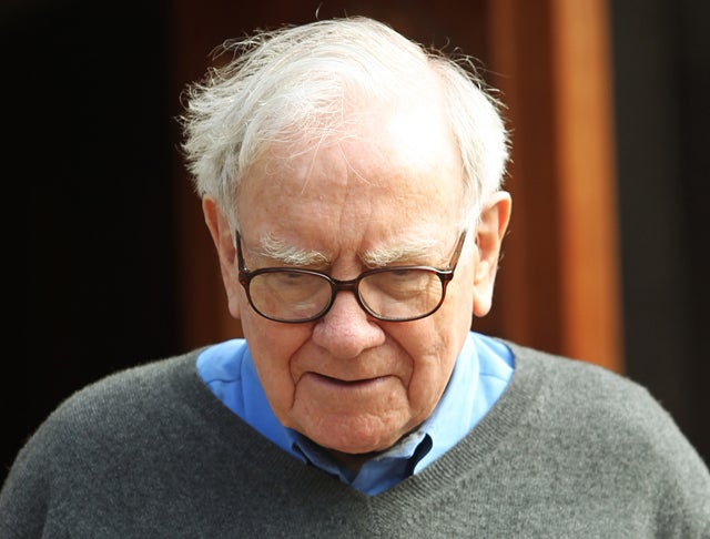 File photograph of Berkshire Hathaway chairman and CEO Buffett in Sun Valley