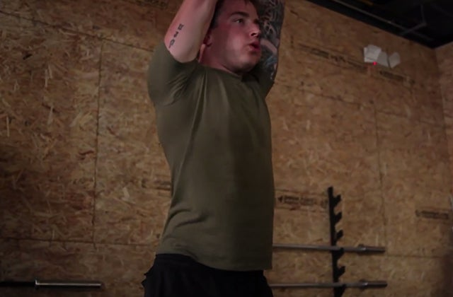 Corporal Jake Hill, United States Marine Corps. (Photo: 3V Video, CrossFit Walter Reed, courtesy of Brian Wilson)