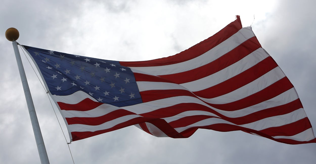 Highway Flagpoles Up Again After Veterans Complain About Removal