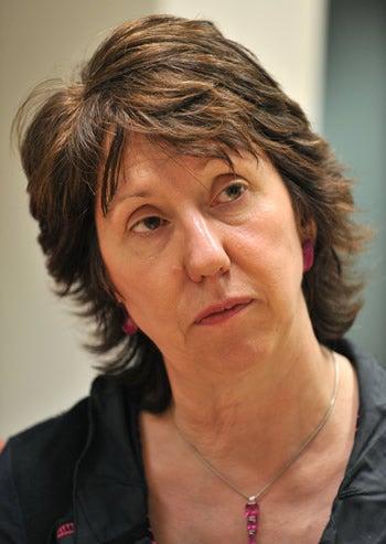 EU Foreign Minister Catherine Ashton