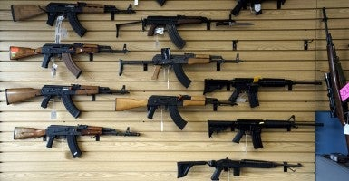 After initially being denied because of his line of work, a North Carolina gun seller gains access to financial services. (Photo: Rick Wilking/Reuters/Newscom)