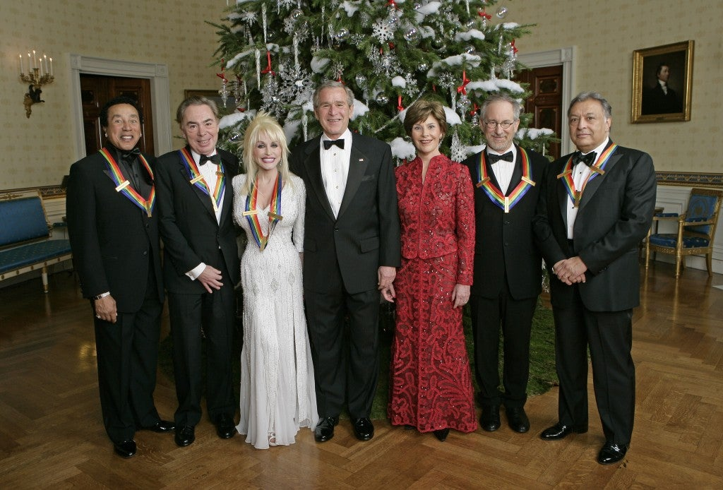 Kennedy Center Honorees with President and Mrs. Bush