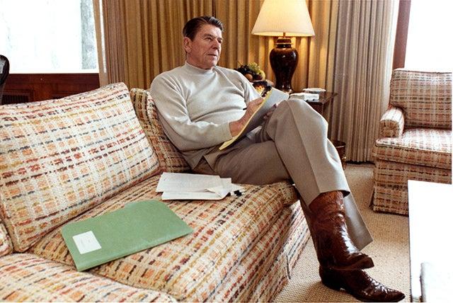 Ronald Reagan vetoed 78 bills as president. (Photo: Michael Evans/Newscom)