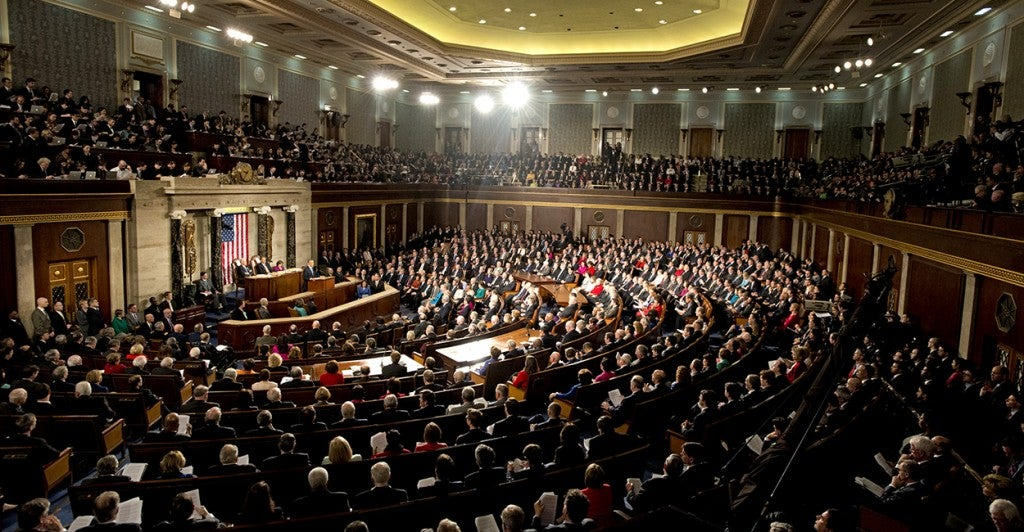 President Barack Obama delivers his State of the Union Address to a Joint Session of Congress. (Photo: Ron Sachs/Newscom)