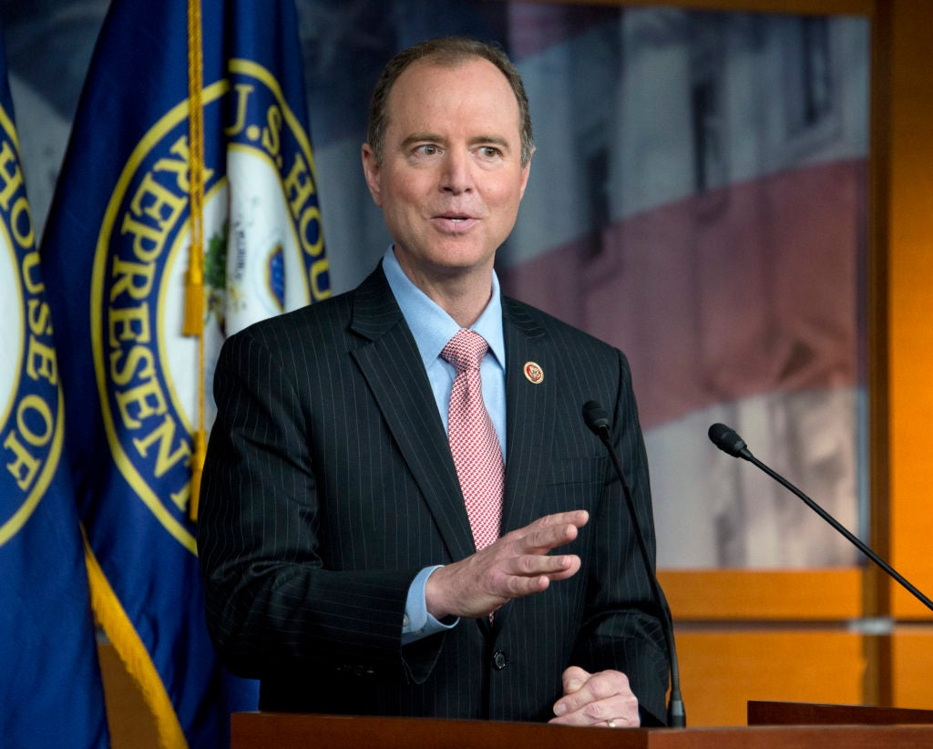 Rep. Adam Schiff, A-Calif., dismissed concerns about potential surveillance of President Trump or his team as part of routine intelligence collection. (Photo: Ron Sachs/ CNP/Newscom)