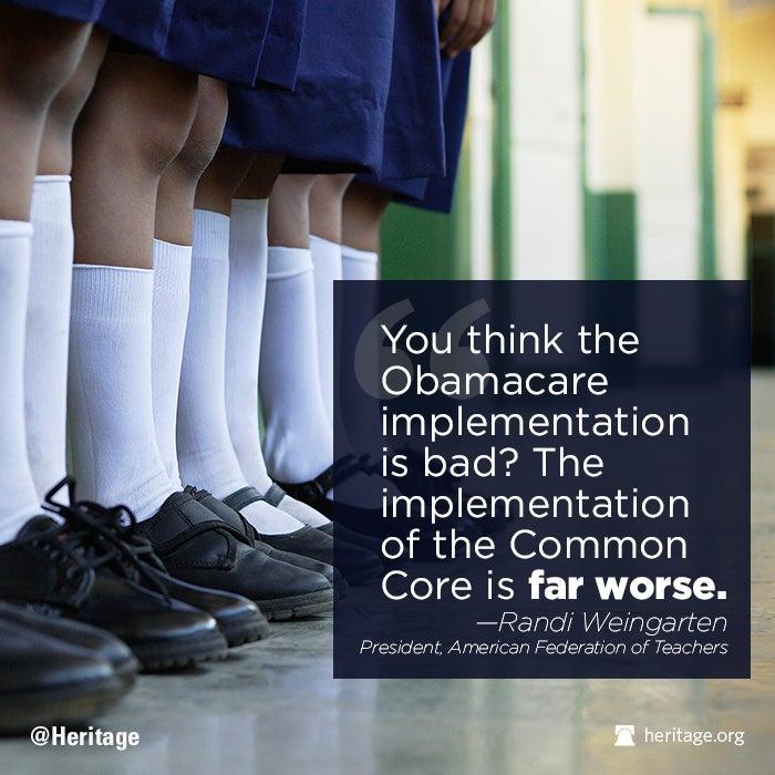 Common Core vs Obamacare