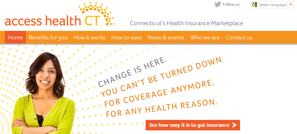 Access Health CT is the state's official health insurance marketplace.