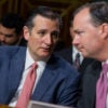 Sens. Ted Cruz, R-Texas, and Mike Lee, R-Utah, demand the Justice Department answer questions about alleged bias against churches and other houses of worship. (Photo: Tom Williams /CQ Roll Call/Newscom)