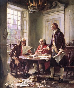 The Drafting of the Declaration of Independence