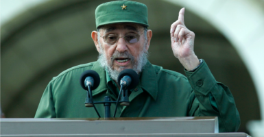 """Fidel Castro's legacy is one of firing squads, theft, unimaginable suffering, poverty, and the denial of fundamental human rights,"" President-elect Donald Trump said of the Cuban dictator's death. (Photo: Jose Goitia/picture-alliance / dpa/Newscom)"