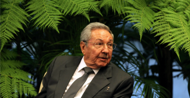 Raul Castro, who leads a Cuba rife with human rights abuses. (Photo: Alejandro Ernesto/EFE/Newscom)