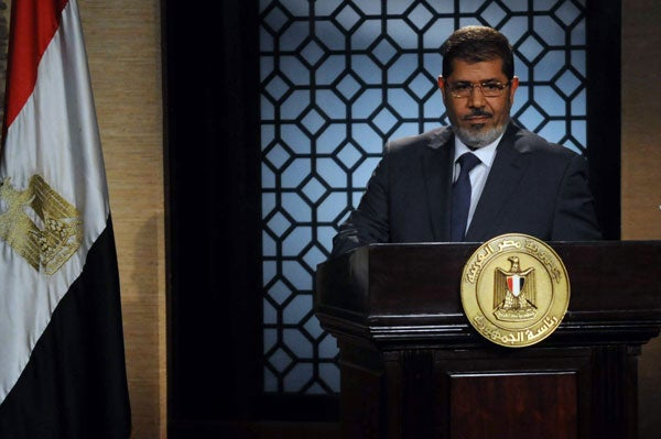 Egypt's new president-elect, Muslim Brot