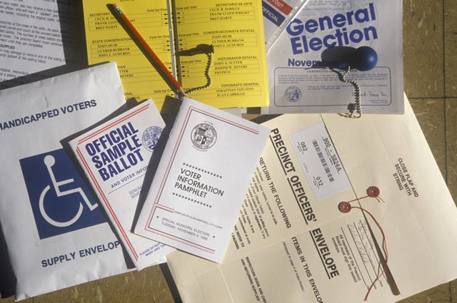 Election materials
