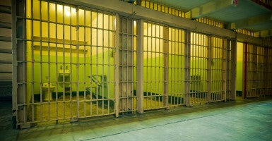 'Most are coming out more desperate and more alone': Men of Valor aims to help inmates successfully re-enter society when they leave cells like these. (Photo: iStock)