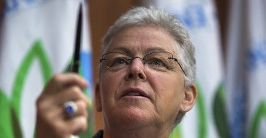 Environmental Protection Agency (EPA) administrator Gina McCarthy (Photo: Newscom)