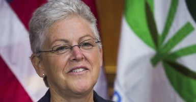 Environmental Protection Agency Administrator Gina McCarthy. (Photo: Jim Lo Scalzo/Newscom)