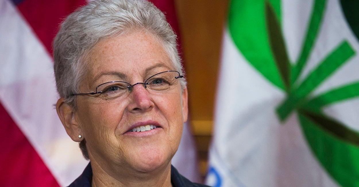 Environmental Protection Agency Administrator Gina McCarthy. (Photo: Jim Lo Scalzo/Newscom)