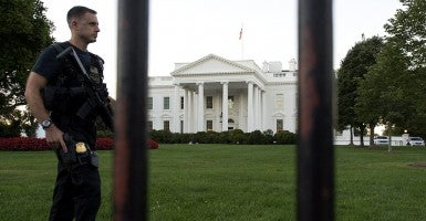The White House. (Credit: Newscom)